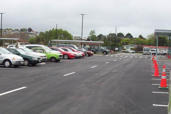 Bureta Carpark After Service