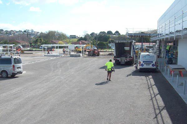 Bureta Carpark Before Service