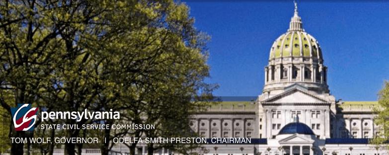 PA Civil Service Commission Test Announcements
