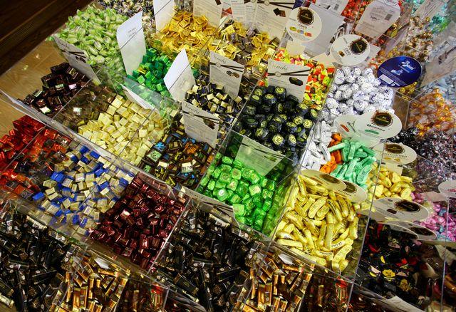 cioccolatini sfusi