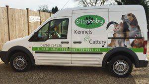 Our company van