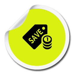 icon of SAVE money