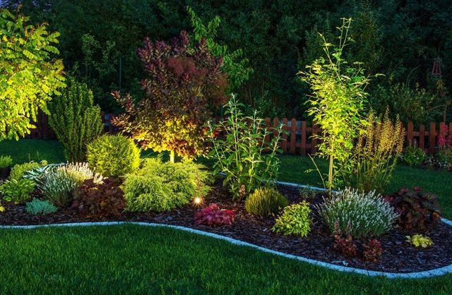 Outdoor lighting installation in buffalo ny mjm electrical landscape lighting for your home and garden mozeypictures Image collections