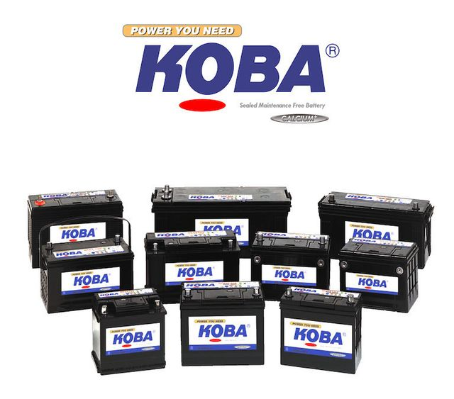 Koba Batteries Stockist