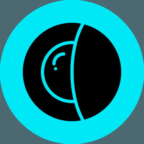 Icona lente a contatto