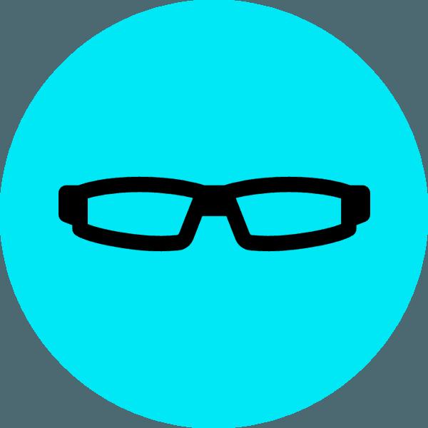 Icona occhiali da vista