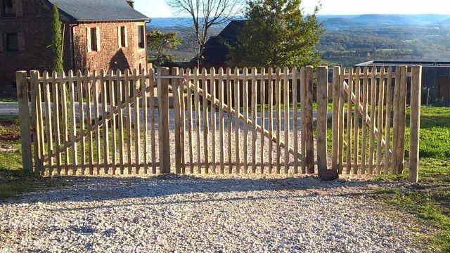 Portails bois du Châtaignier | Woods Ambiance