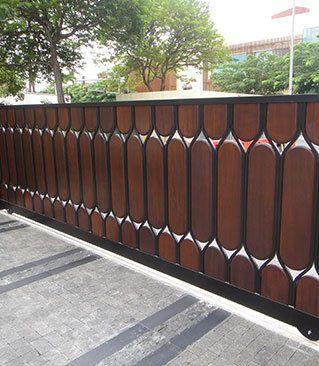 IBM Driveway Gate Honolulu, Hawaii