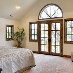 bedroom doors and windows