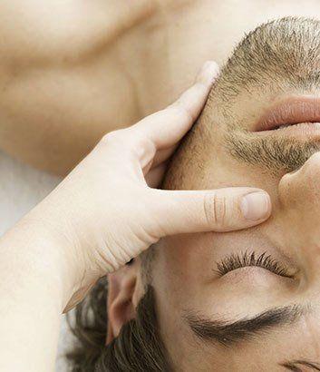 male beauty treatment