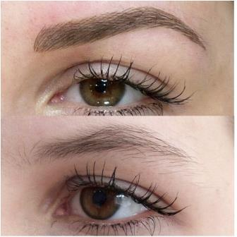 Image result for permanent eyebrows