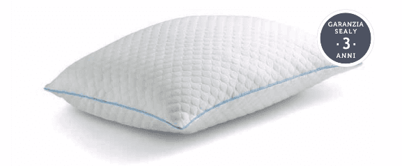 hybrid pillow guanciale sealy