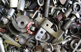 scrap metal pieces
