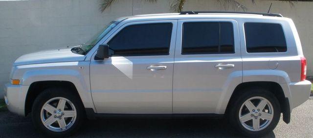 SUV newly tinted