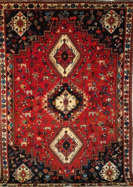 Shiraz Carpet Persian Rug