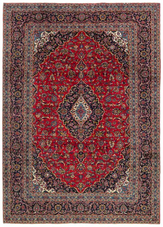 Elegant Kashan rug