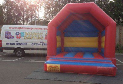 bouncy shed for hire