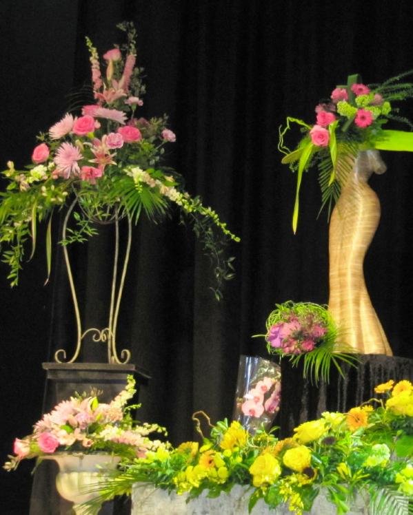 Flower demonstrations