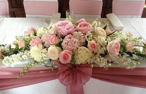 Table centre flowers