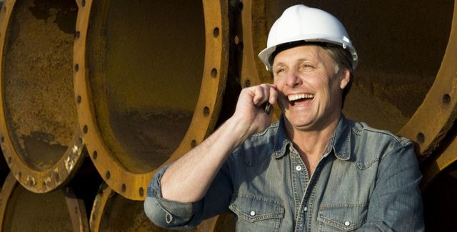 Drilling professional on the phone in Auckland