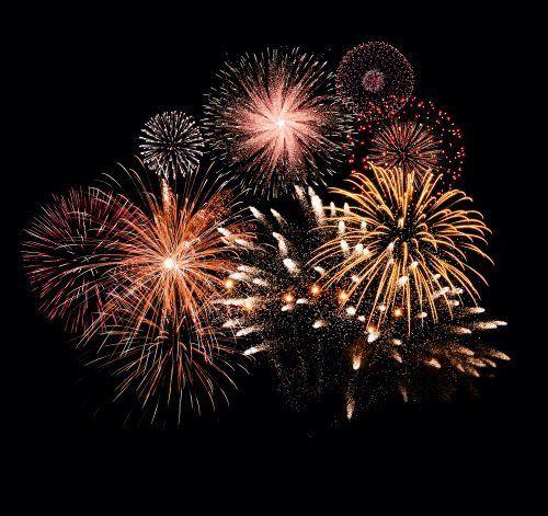 fuochi d'artificio per feste