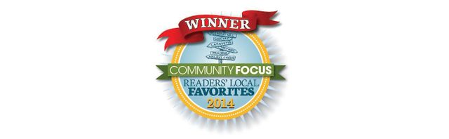 Community Focus Reader's Local Favorites Winner 2014