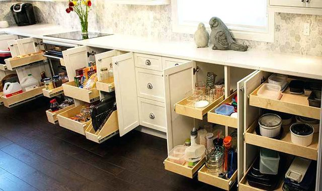 Make The Most Of Your Space With Rollout Shelves For Cabinets