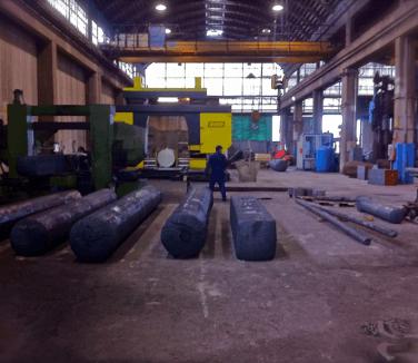 Interno della ditta di lame industriali