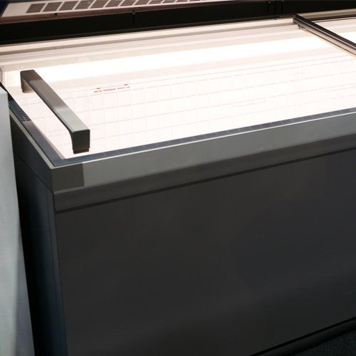 Home Appliance Store Repair — Gray Deep Freezer in Bountiful, UT