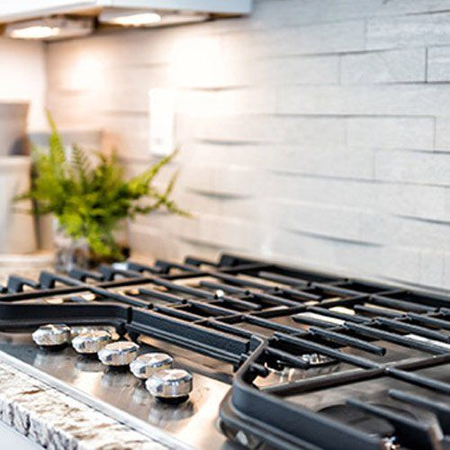Home Appliance Store — Cooking Range in Kitchen in Bountiful, UT