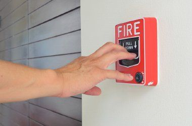 fire alarm installed