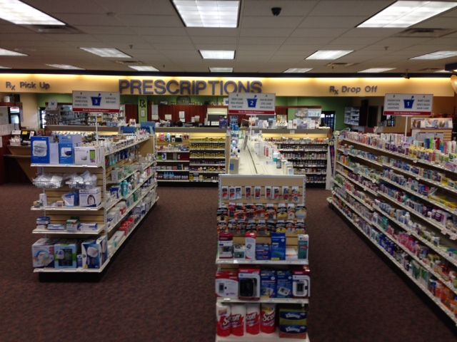 Aisle of Jeff's Prescription Shop