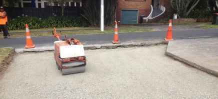 A completed earth moving job in Greater Auckland