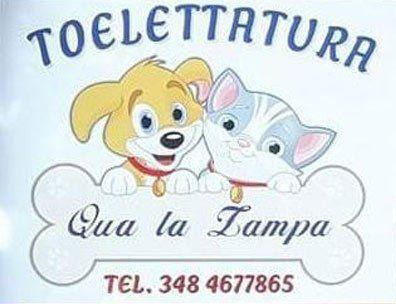 Qua La Zampa Toelettatura – Logo