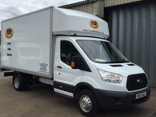 35 cwt. Ford Transit Luton with Tail Lift