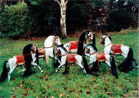 Unique rocking horses - Bradford - Woodlove & Lovewood - Family