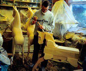 Bespoke rocking horses - Sheffield - Woodlove & Lovewood - Wood Craftsmen