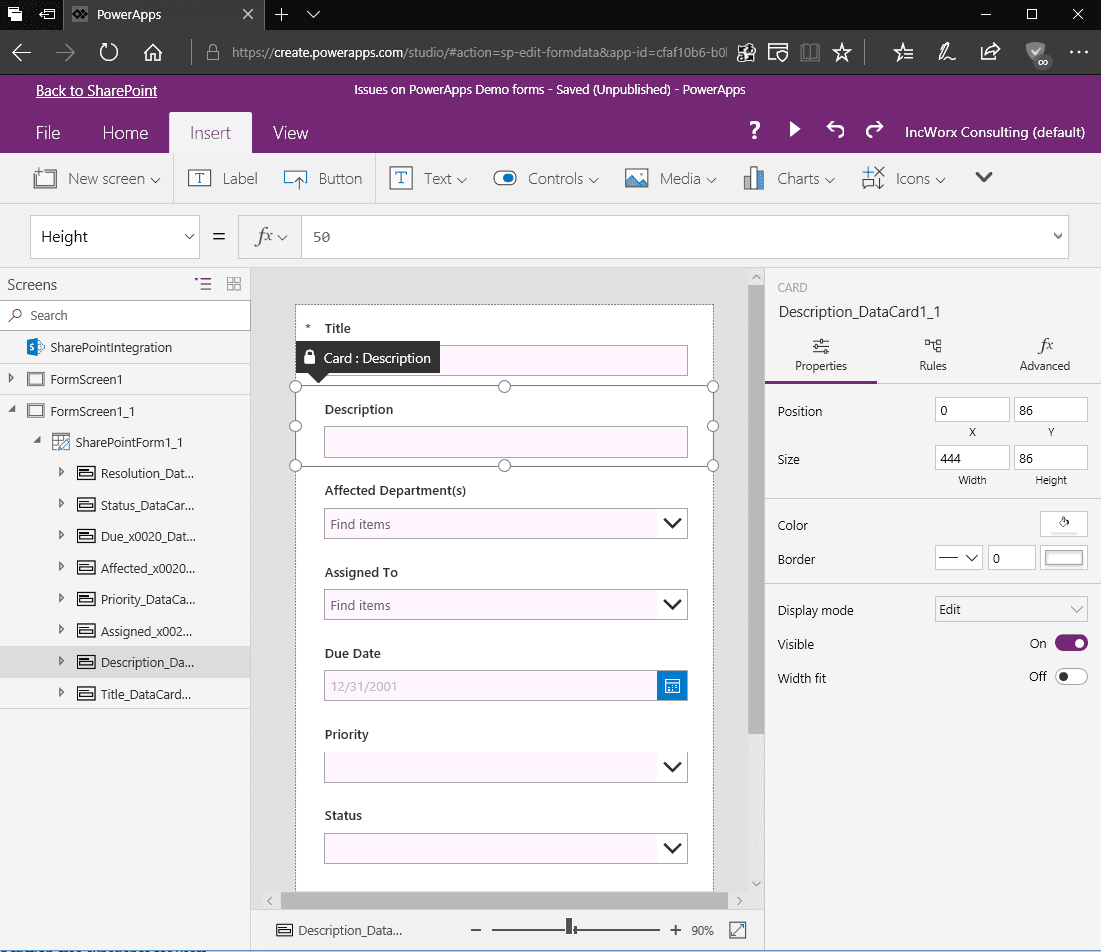 SharePoint DIY: Custom List Forms with PowerApps