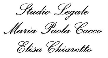STUDIO LEGALE MARIA CACCO - ELISA CHIARETTO - LOGO