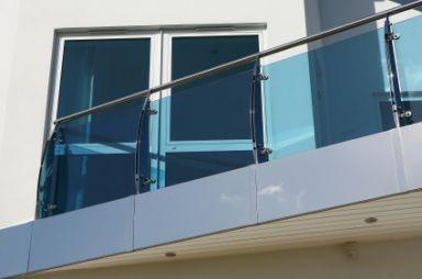 frameless railings