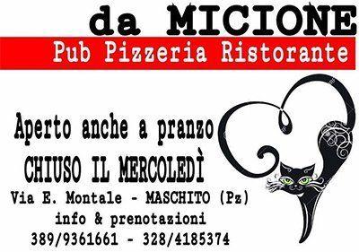PIZZERIA DA MICIONE logo