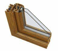 infissi legno alluminio doppio vetro