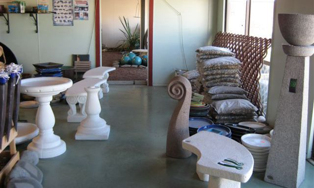 Ceramic landscape gardening supplies in Hawkes Bay