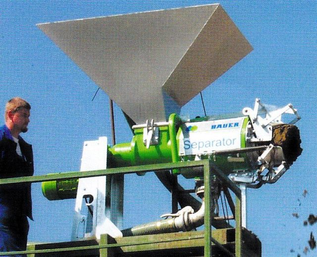 Bauer Effluent Slurry Separators