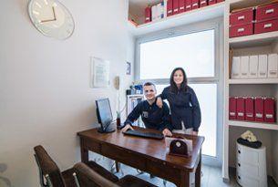 Fabio Frangini e dottoressa Daniela Teglia