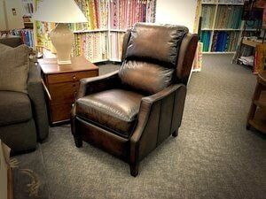 Flexsteel Ethan Leather Power Recliner   Furniture In Fort Collins, CO