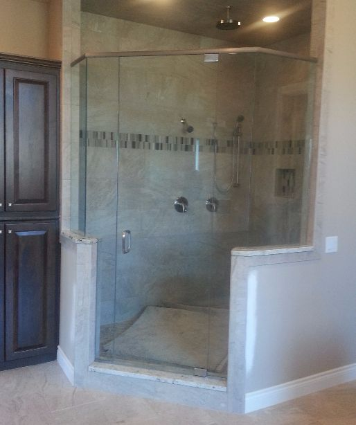 Frameless Glass Shower Bentonville, Arkansas