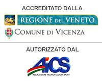 accreditato dalla regione veneto - autorizzato dal AICS
