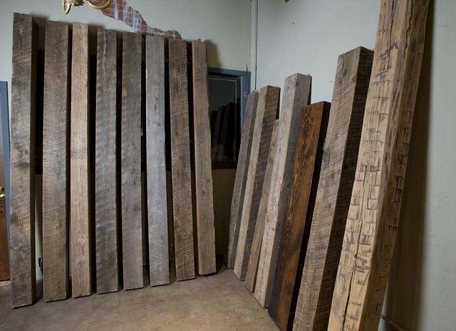 Reclaimed Wood Beams Karmal Skillington Nashville Tn