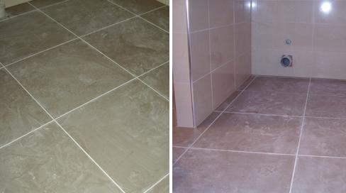 Floor tiling after tiling services in Dunedin